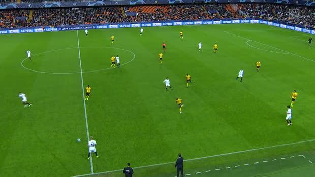 UEFA Champions League: Valencia - Young Boys Bern   DAZN Highlights