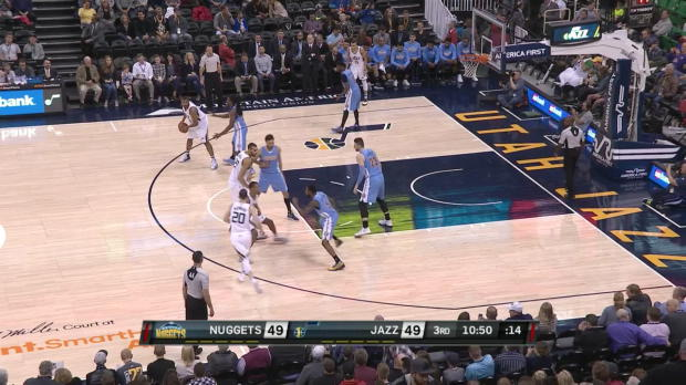 WSC: Gordon Hayward goes for 32 points in win over the Nuggets