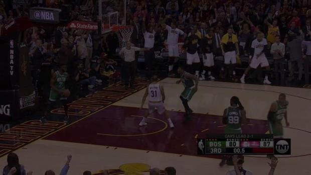 WSC: Kyrie Irving beats the buzzer vs. the Celtics