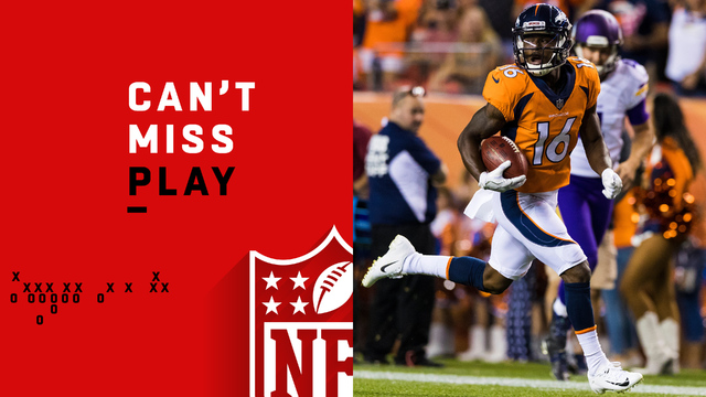 Can't-Miss Play: To the house! McKenzie sprints 78 yards on return