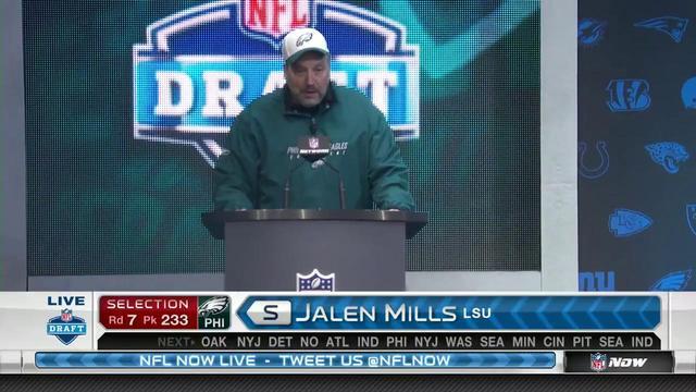 Eagles pick Jalen Mills No. 233