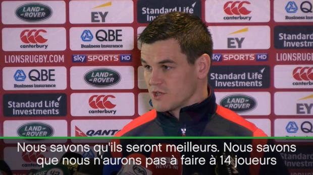 Lions - Sexton - 'Produire la meilleure performance possible'
