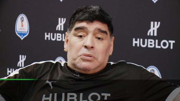 WM 2018: Maradona: Argentinien ist kein Favorit