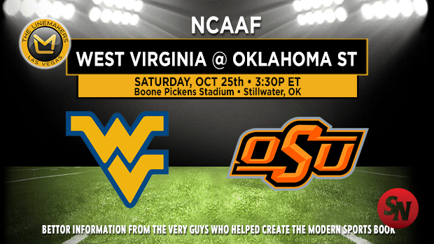 West Virginia Mountaineers @ Oklahoma State Cowboys