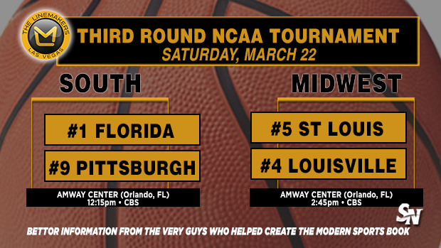 Pittsburgh vs. Florida, St. Louis vs. Louisville