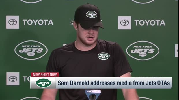 New York Jets quarterback Sam Darnold on new offense: I'm getting 'more and more' comfortable everyday