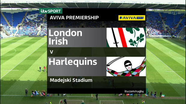Aviva Premiership - Match Highlights - London Irish v Harlequins