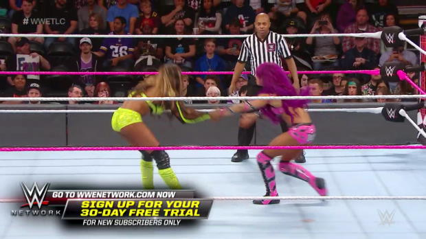 Sasha Banks shows no sympathy for Alicia Fox: WWE TLC: Tables, Ladders & Chairs Kickoff 2017