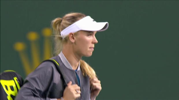 Highlights: Keys - Wozniacki