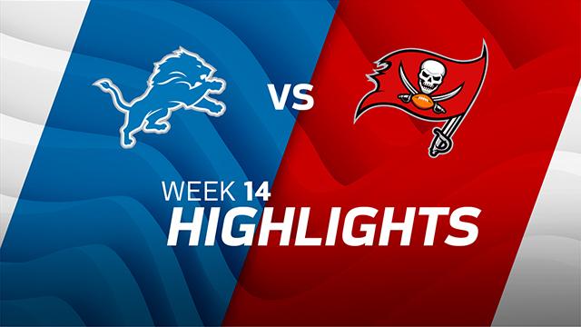 Detroit Lions vs. Tampa Bay Buccaneers highlights | Week 14