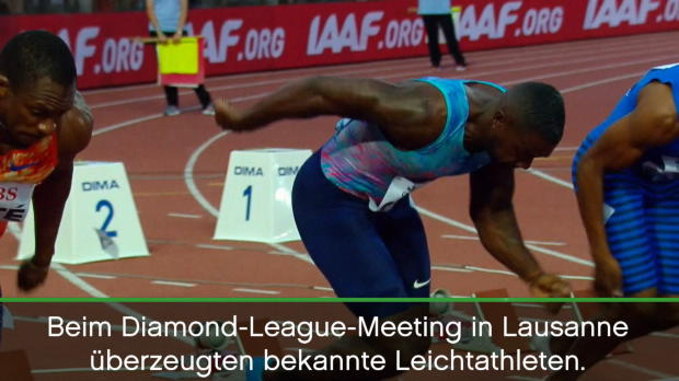 Diamond League: Gatlin und van Niekerk rocken