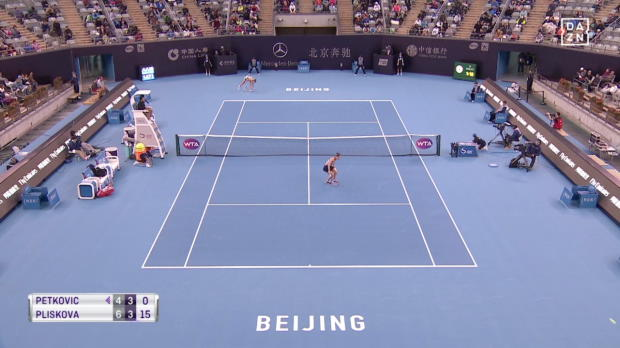WTA Peking: Petkovic knickt gegen Pliskova um!