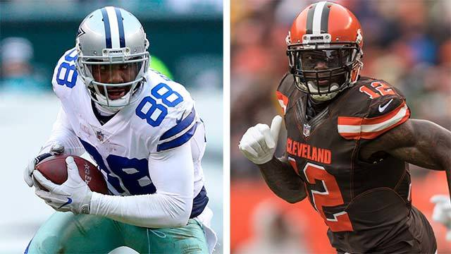 James Jones: Cleveland Browns wide receiver Josh Gordon's return means Dez Bryant shouldn't sign with Browns