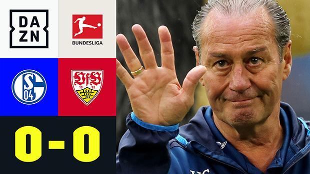 Bundesliga: FC Schalke 04 - VfB Stuttgart | DAZN Highlights