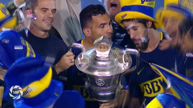 Primera Division: Tevez und Boca feiern Titel