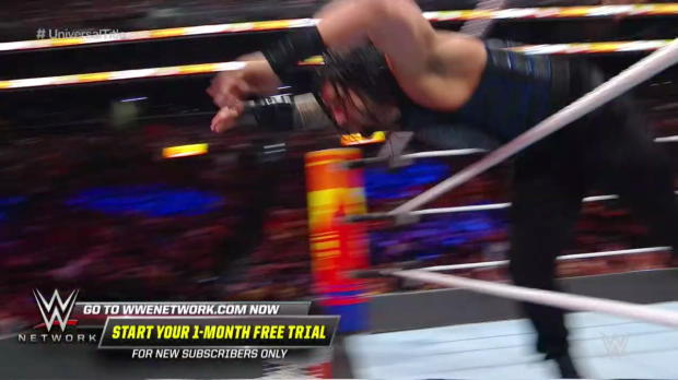 Brock Lesnar F-5s Braun Strowman and smashes him with his Money in the Bank briefcase: SummerSlam 2018 (WWE Network Exclusive)