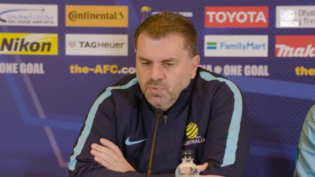 Ange lauds Socceroos' depth