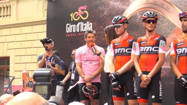Giro de Italia - Dempsey, de Anatomía de Grey, la nueva maglia rosa