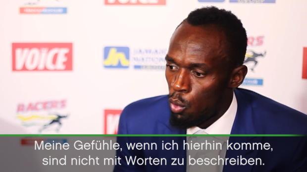 """Bolt vor London: """"Gefühle nicht zu beschreiben"""""""