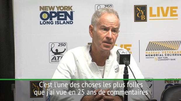 : Rotterdam - Federer impressionne McEnroe