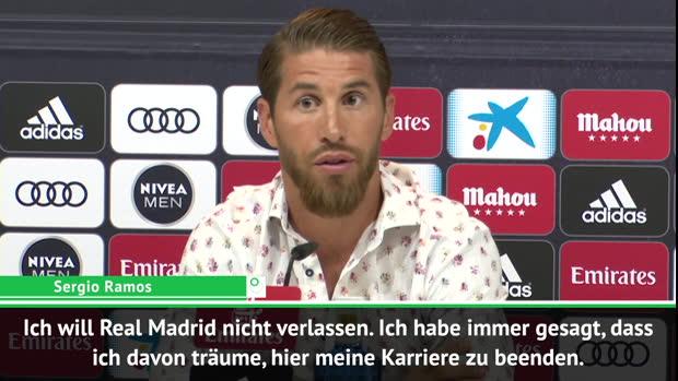 Ramos kontert Wechsel-Gerüchte: Bleibe bei Real!