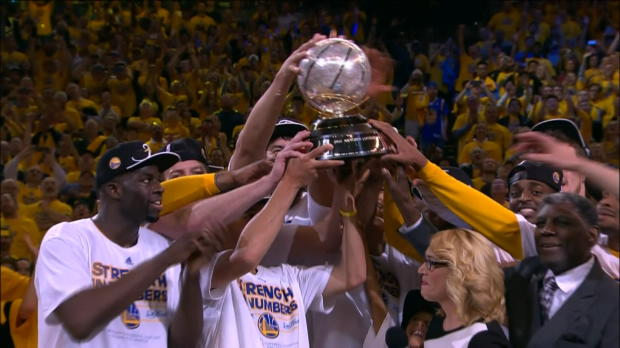 Play-offs - Les Warriors rallient la finale