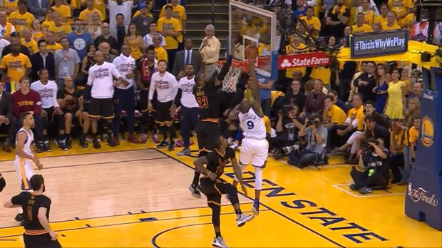 Basket : NBA - L'action qui tue - Le contre monstrueux de LeBron