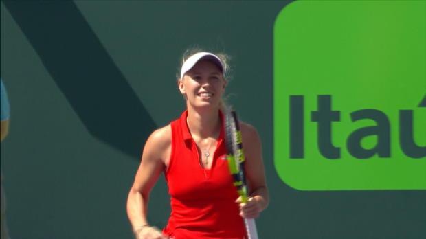WTA - Miami - Wozniacki écarte Pliskova et file en finale