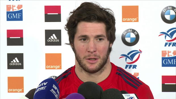 VI Nations - XV de France : Machenaud : 'Envie de jouer au rugby !'