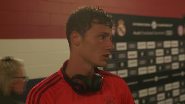 Bayern - Pavard - 'Quand je joue, je suis heureux !'