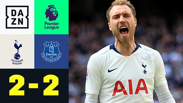 Premier League: Tottenham - Everton | DAZN Highlights