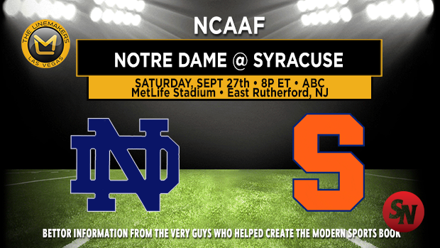 Notre Dame Fighting Irish @ Syracuse Orange