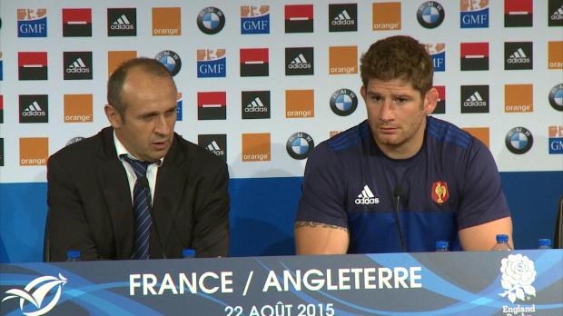 XV de France - PSA - 'Un bras de fer de gagné'