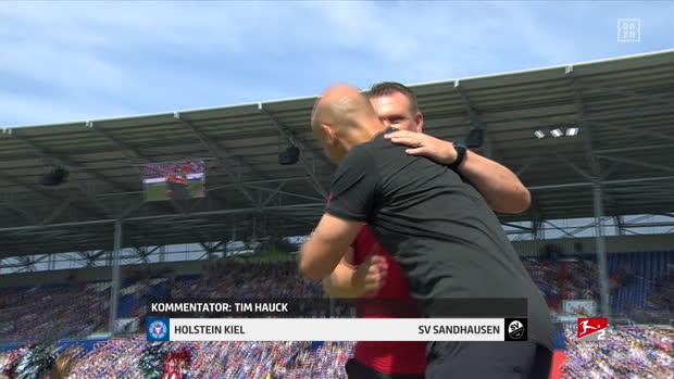2. Bundesliga: Holstein Kiel - SV Sandhausen   DAZN Highlights