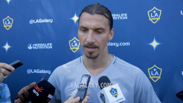 """Ibrahimovic: """"MLS-Debüt war etwas Besonderes"""""""