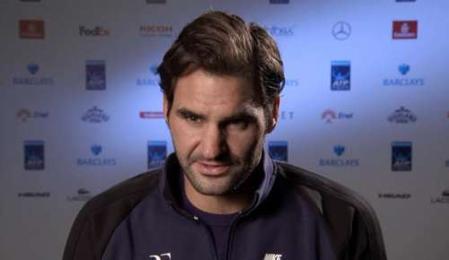 Federer Interview: ATP London RR