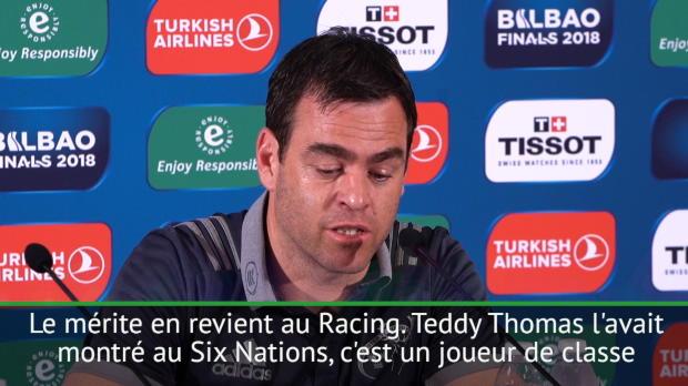 """Rugby : Demie - van Graan - """"Thomas, classe mondiale"""""""