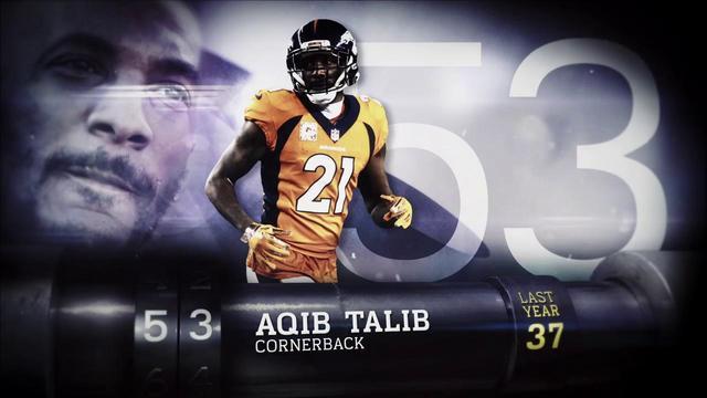 'Top 100 Players of 2018': Denver Broncos cornerback Aqib Talib | No. 53