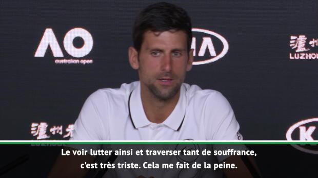 Retraite de Murray - Djokovic - 'Murray est un ami, un collègue, un rival'