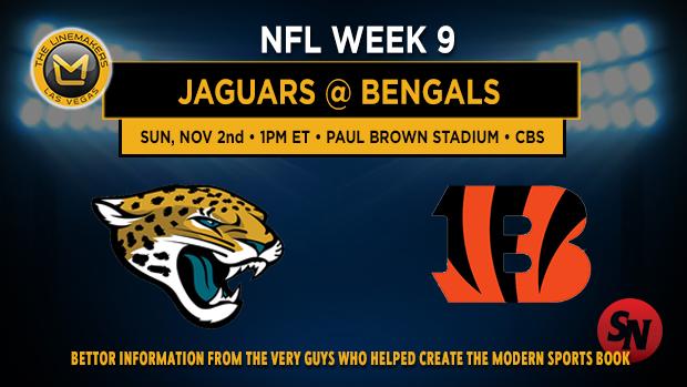 Jacksonville Jaguars @ Cincinnati Bengals
