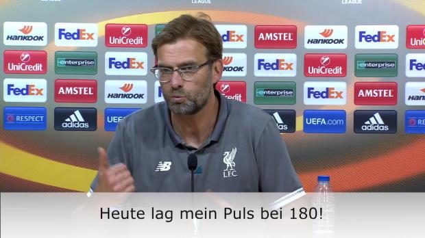 """Klopp nach Villarreal: """"Puls auf 180!"""""""