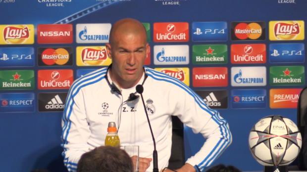 """Zidane vor CL-Finale: """"Wir sind bereit"""""""