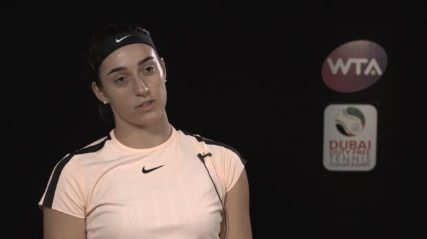 """Tennis : Dubaï - Garcia - """"Des hauts et des bas"""""""