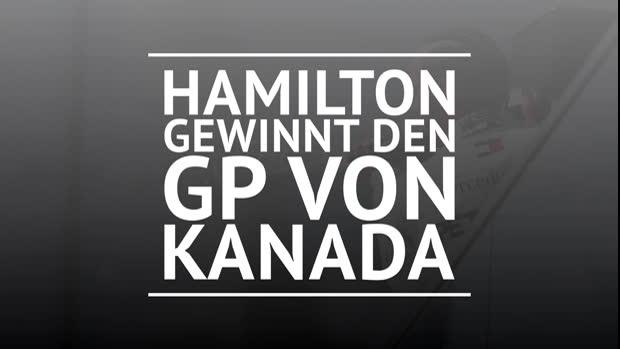 F1: Hamilton siegt nach Vettel-Drama in Kanada