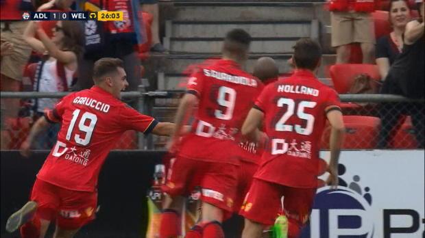 A-League: Henrique mit dem Doppel-Hammer