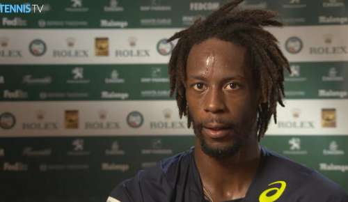 Monfils Interview: ATP Monte-Carlo SF