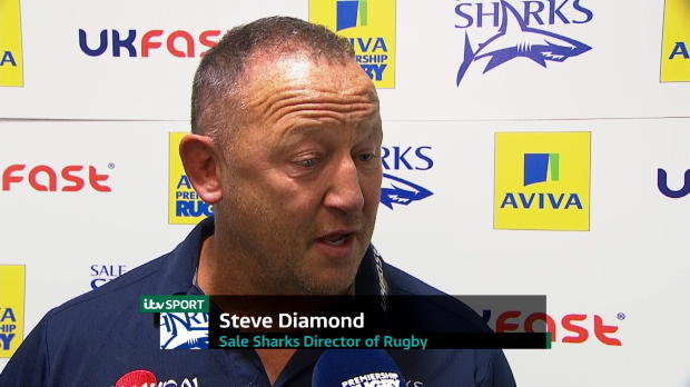 Aviva Premiership - Steve Diamond Interview