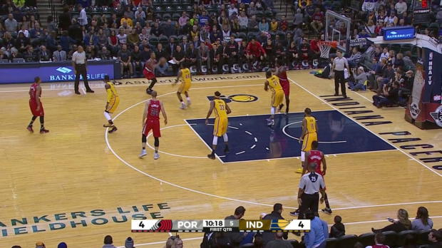 WSC: Portland Trail Blazers with 16 3-pointers against the Pacers