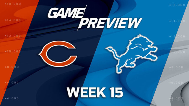 Bears vs. Lions preview | 'NFL Playbook'