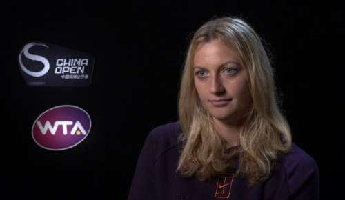 Kvitova Interview: WTA Beijing 2R